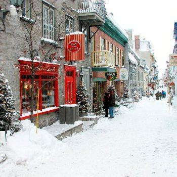 Du học mùa đông tại Canada