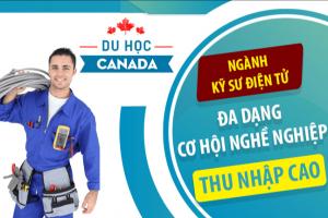 Ngành điện tử ưu tiên tại định cư Canada