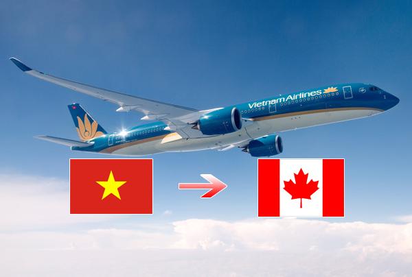 Vé máy bay đi Việt Nam sang Canada trở nên phổ biến hơn